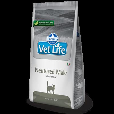 Фармина (FARMINA Vet Life Neutered Male) корм для кастрированных котов 400 г