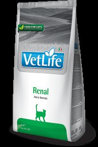 Фармина (FARMINA Vet Life RENAL) диета для кошек при почечной недостаточности, вспомогательное средство при сердечной недостаточности 400 г