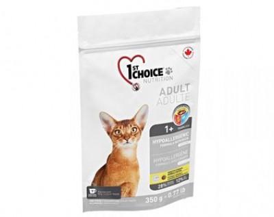 1ST CHOICE (Фест Чойс) Гипоаллергенный корм для кошек без зерна Утка с картофелем 350 гр арт.102.1.250