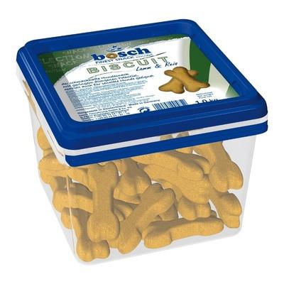 Бош Лакомство для собак склонных к аллергии Бисквит Ягненок с рисом Bosch Biscuit (для укрепления десен) 1 кг арт.10818/44250