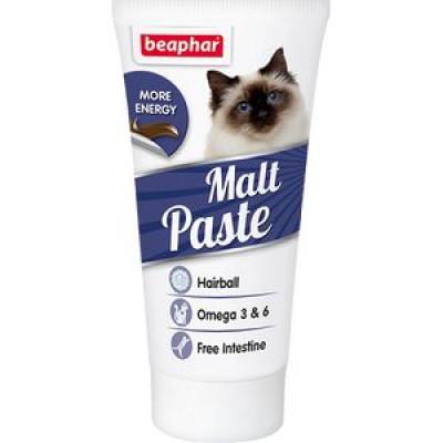 -Беафар Паста для выведения шерсти из кишечника Malt Paste  25 г