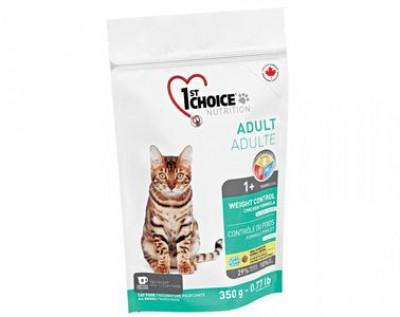 1ST CHOICE (Фест Чойс) Adult корм для кастрированных и стерилизованных кошек Контроль Веса Курица 350 гр арт.102.1.260