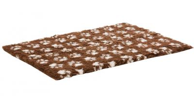 ProFleece коврик меховой 1х1,6 м шоколад/крем