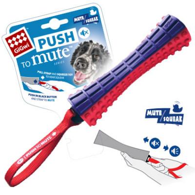 -GiGwi Игрушка для собак JOHNNY STICK палка с отключаемой пищалкой арт.57940