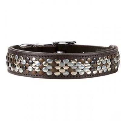 -Hunter Arizona Gr. Ошейник для собак, телячья кожа,коричневый 30-34,5 см арт. 60441