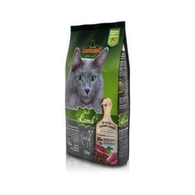 ЛЕОНАРДО Эдалт-Сенситив сухой корм для взрослых кошек Ягненок рис при чувствительном пищеварении 7,5кг арт.60710