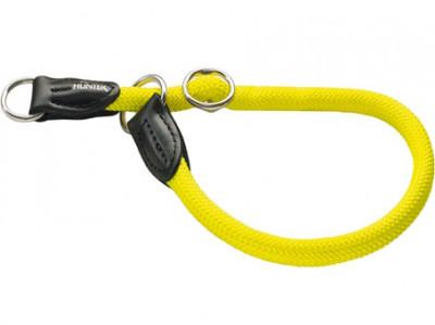 -Hunter ошейник-удавка для собак Freestyle Neon 60/10 нейлоновая желтый неон
