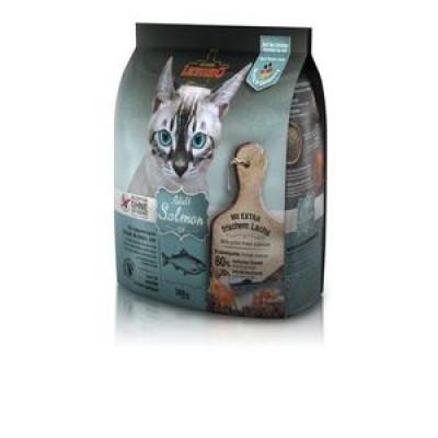 ЛЕОНАРДО Эдалт-Салмон сухой беззерновой корм для взрослых кошек Лосось при чувствительном пищеварении 300 гр арт.64299