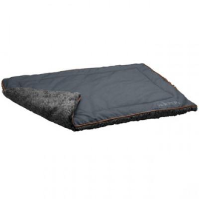-Hunter одеяло для собак Bergamo 120х80 см, хлопок/полиестер, антрацит арт. 65340