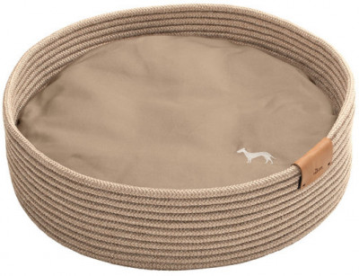 -Hunter корзина-софа для собак Graz 50х50 см, плетение, бежевый арт.65836