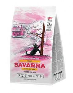 SAVARRA Adult Cat Lamb Сухой корм для взрослых кошек 2кг Ягненок рис