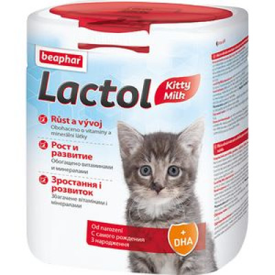 -Беафар Молочная смесь для котят Lactol kitty 500 гр арт. 71686