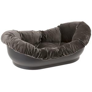 Лежак DORMEUSE  для собак с подушкой велюр арт.70240999
