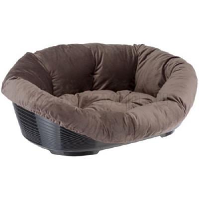 Софа для собак FERPLAST PRESTIGE 2 серая (лежак+подушка) арт.81038230C