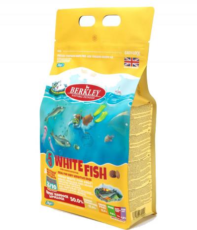 Беркли №5 Белая рыба с овощами, фруктами и ягодами для взрослых собак, 2 кг арт.90596