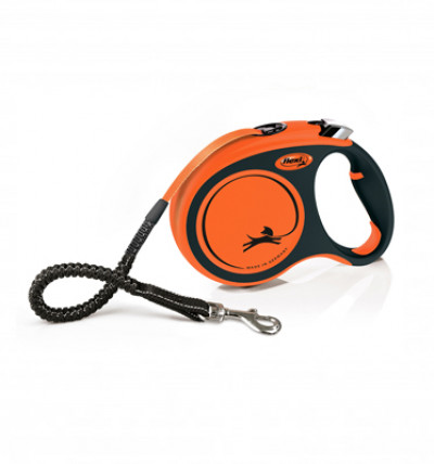 -flexi рулетка Xtreme M (до 35 кг) 5 м лента, оранжевая арт.98034309