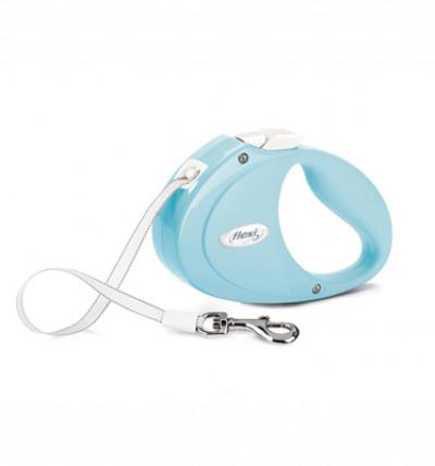 -flexi рулетка Puppy (до 12 кг) 2 м лента, голубая арт.98044513