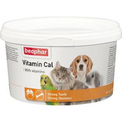 -Беафар Vitamin Cal Витаминная смесь для укрепления иммунитета для собак и кошек 250 гр