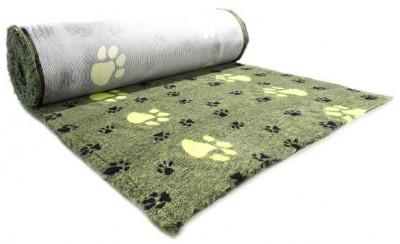 ProFleece коврик меховой Большая Лапа 1х1,6 см лайм/черный арт.PF020