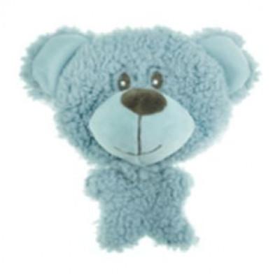 AROMADOG Игрушка для собак BIG HEAD Мишка 12 см голубой арт: WB16954-1