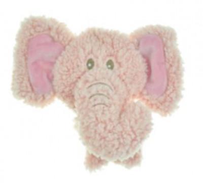 AROMADOG Игрушка для собак BIG HEAD Слон 12 см розовый арт: WB16954-4