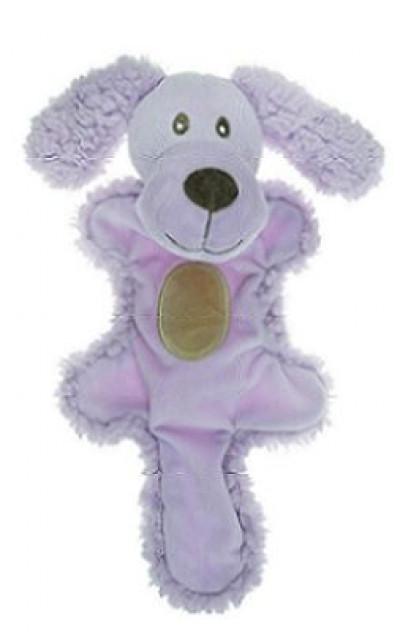 AROMADOG Игрушка для собак Собачка с хвостом 25 см сиреневая арт: WB16955-3