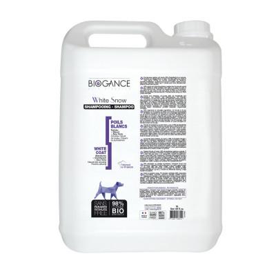 Биоганс шампунь для белых окрасов / Biogance Sh. Poils Blancs (White Snow Sh.) 5 л