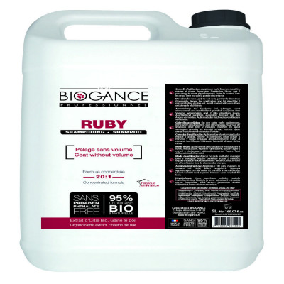 Биоганс шампунь текстурный концентрированный / Biogance Ruby Texturising Shampoo 5 л