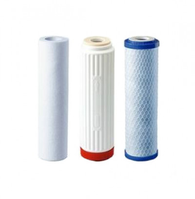 SuperDesign запасные фильтры для Питьевого фонтанчика ML990530, комплект (картридж, 3 фильтра) 9х5,7х1,55см арт.80072