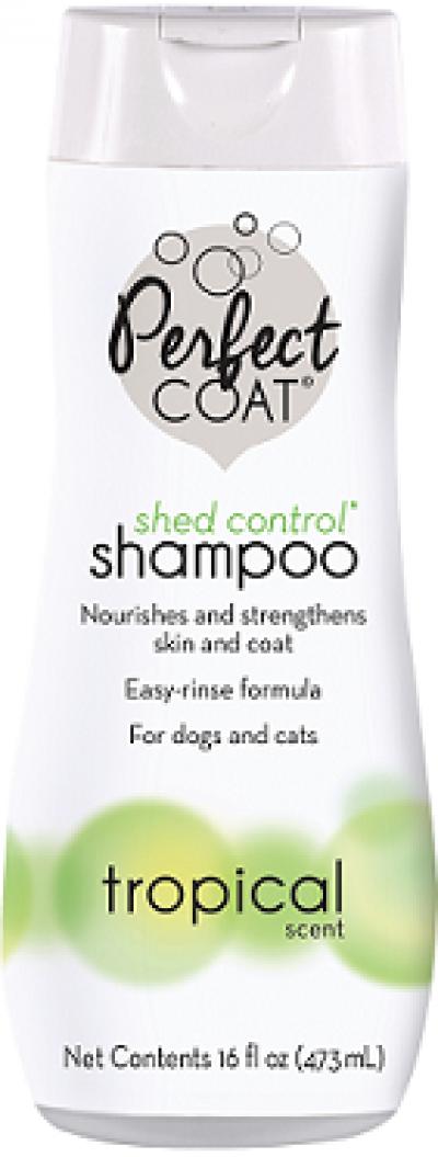 8in1 шампунь для собак PC Shed Control против линьки с тропическим ароматом 473 мл арт.1865827
