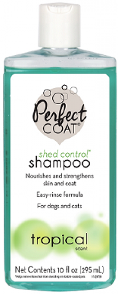 8in1 шампунь для кошек и собак PC Shed Control & Hairball против линьки и колтунов с тропическим аром. 295 мл