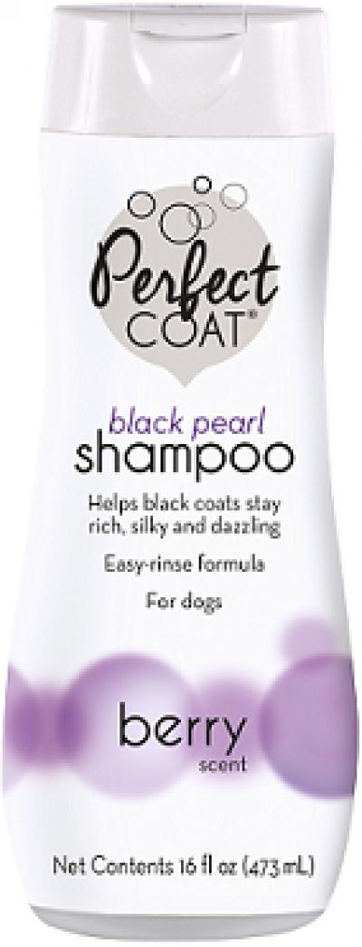 8in1 шампунь-кондиционер для собак PC Black Pearl для темных окрасов с ароматом бойзен-ягоды 473 мл