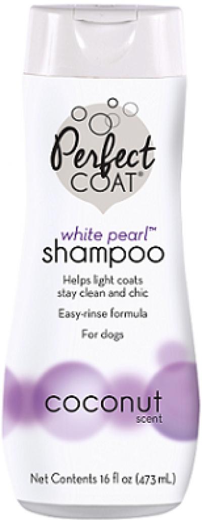 8in1 шампунь-кондиционер для собак PC White Pearl для светлых окрасов с ароматом кокоса 473 мл арт.1865834