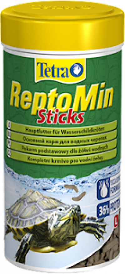 -Tetra ReptoMin корм в виде палочек для водных черепах 100 мл