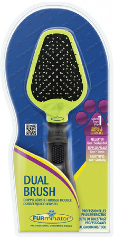 -FURminator щетка двухсторонняя Dual Brush зубцы 12 мм (замена 140634)