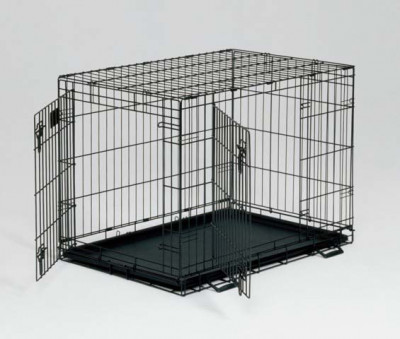 MidWest клетка Life Stages 95х65х67h см 2 двери черная