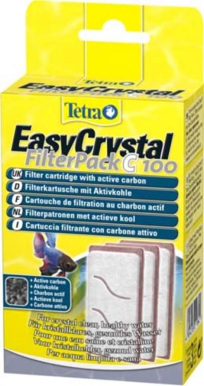 Tetra EC 100 фильтрующие картриджи с углем для аквариума Tetra Cascade Globe 3 шт.