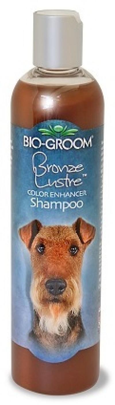 Bio-Groom Bronze Lustre шампунь-ополаскиватель для собак коричневого окраса 355 мл