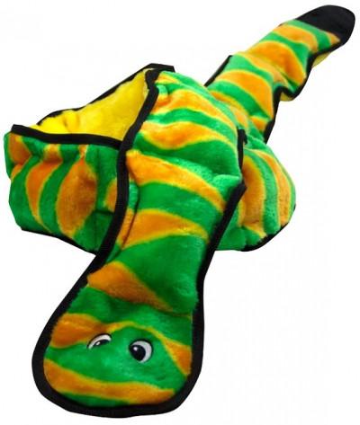 -OH игрушка для собак Invincibles Змея XXL 12 пищалок 1,5 метра