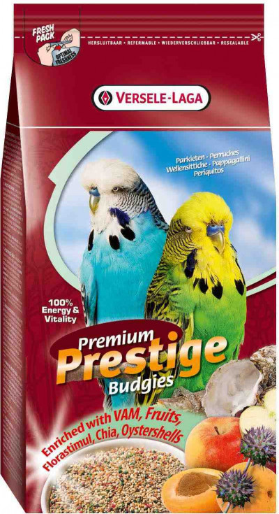 -VERSELE-LAGA корм для волнистых попугаев Prestige PREMIUM Budgies 800г арт.421699
