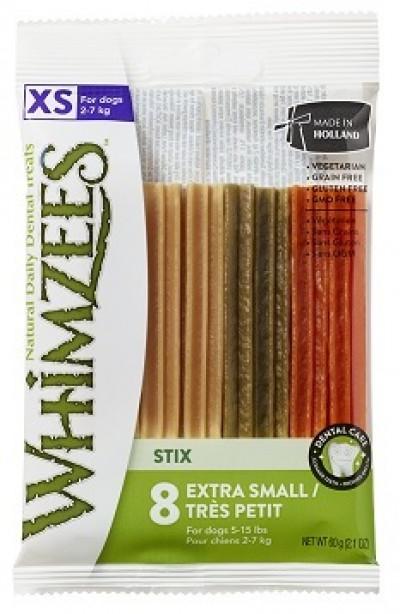 -Whimzees Зубная палочка для собак XS 8 см 8 шт в блистере