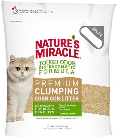 8in1 наполнитель кукурузный NM Premium Natural Care для кошачьего туалета комкующийся 4,5 кг (10 л)