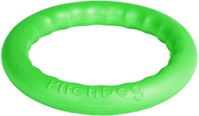 -PitchDog 20 - Игровое кольцо для аппортировки d 20 зеленое