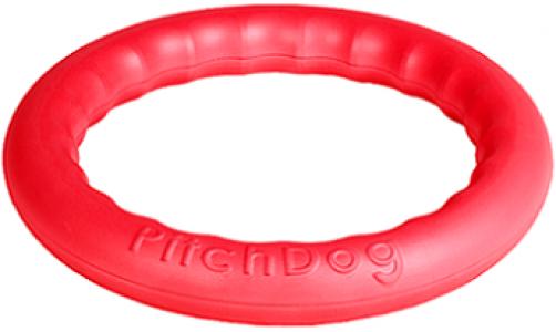 -PitchDog 20 - Игровое кольцо для аппортировки d 20 розовое