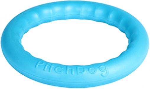 -PitchDog 30 - Игровое кольцо для аппортировки d 28 голубое