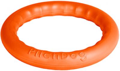 -PitchDog 30 - Игровое кольцо для аппортировки d 28 оранжевое