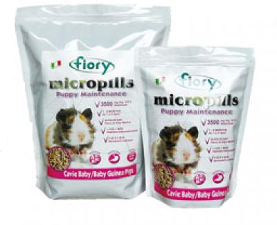FIORY корм для морских свинок 1-6 мес Micropills Baby Guinea Pigs 850 г