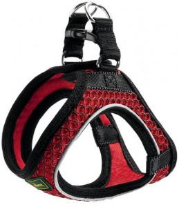 -Hunter шлейка для собак Hilo Comfort 33-36 см, сетчатый текстиль, красная