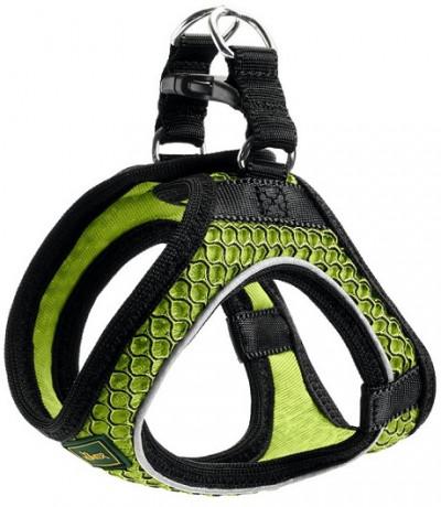 -Hunter шлейка для собак Hilo Comfort 33-36 см, сетчатый текстиль, лайм