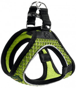 -Hunter шлейка для собак Hilo Comfort 46-52 см, сетчатый текстиль, лайм